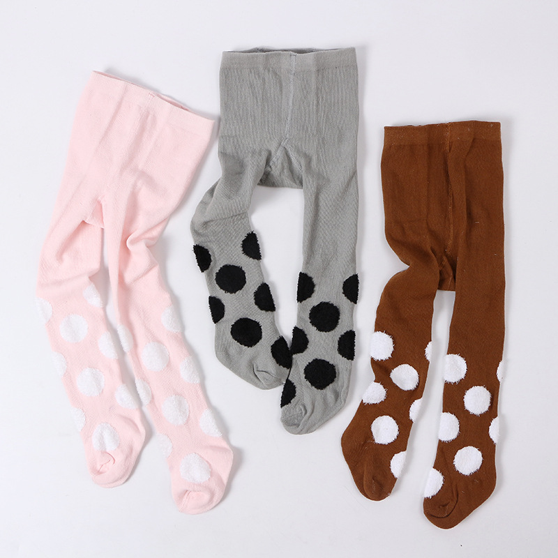 Cute Girls Winter/Autumn Pantyhose Kids Tights Stockings Cotton Children Baby Boys Tights Stockings Toddler Pantyhose For 0-3 Y