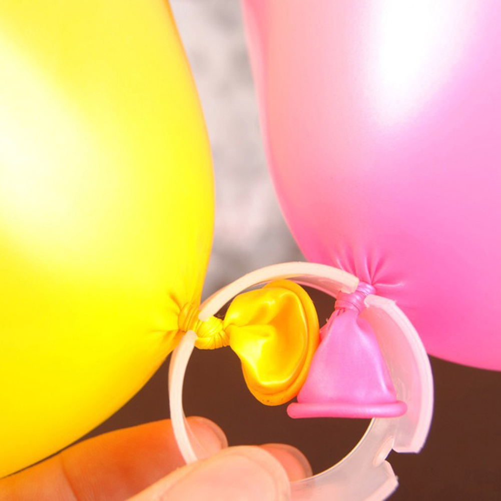 25pcs/lot New Balloon Seal Clip That Combine 5 Balloons to Flower Shape Multi Balloon Sticks Balloon Accessory