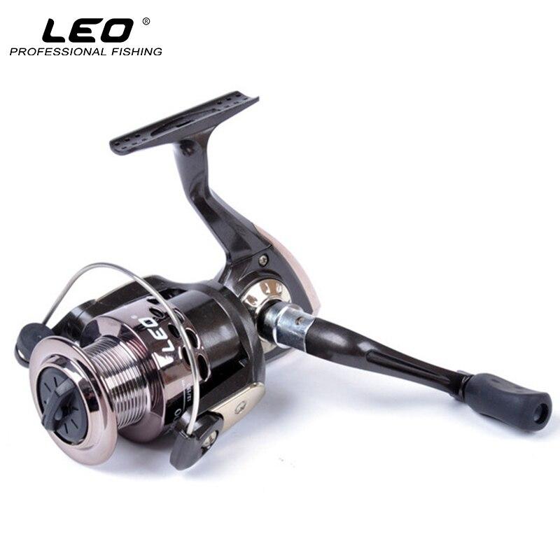 LEO GF1000-GF5000 De Pêche S'attaquer Haute Coût-efficace En Plastique Spinning Reel Fishing Gear Ratio 5.2: 1 3BB Mer Moulinet De Pêche