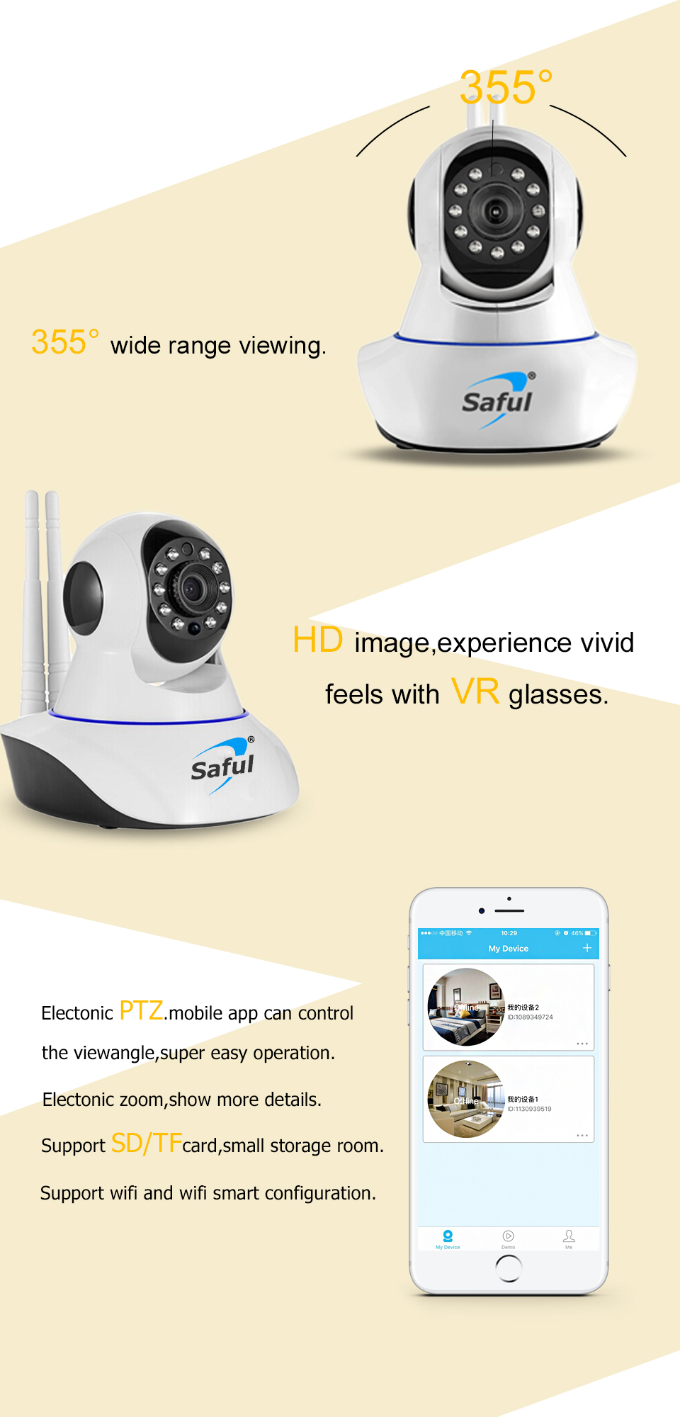 IP Camera WiFi Wireless (3)