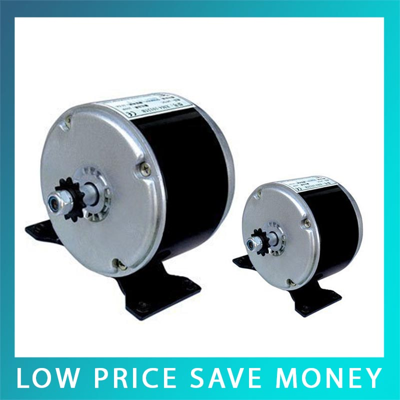 24V DC Permanent Magnet Speed Motor Scooters Small Brush Motor