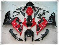 Motorcycle Red Black Fairing Body Work Cowling For SUZUKI GSXR1000 GSXR 1000 K5 2005 2006 4