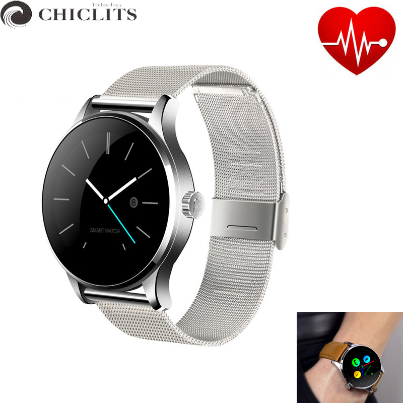 Chiclits K88h Smart Watch for Mens Reloj inteligente Heart Rate Monitor Smart Wrist Watches PK DZ09 GT08 U8 Bluetooth Smartwatch