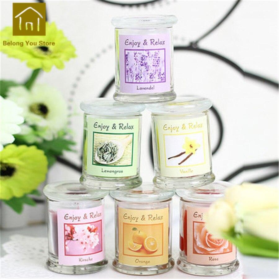 Paquet de support de Bougies chauffe-plat aromathérapie Bougies parfumées décoratives Velas Bougies parfumées fabrication de Bougies pilier JKK104 - 4
