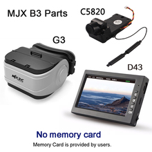 MJX C5820/C5830 Caméra D43 LCD Écran G3 Lunettes 5.8G FPV en temps Réel Image Transmission MJX B3/B6 B8 Quadcopter De Rechange pièces