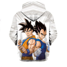 Dragon Ball Z Super Saiyan Goku Unisex Sweatshirt Hoodie