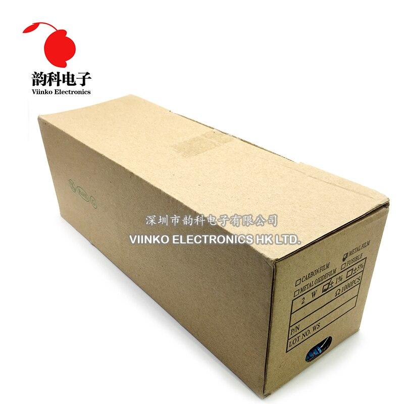 1000 шт. 2 Вт 1% Металл Плёнка резистор 0.22R 0.24R 0.27R 0.3R 0.36R 0.22 0.24 0.27 0.3 0.36 Ом