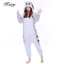 Новый Сыр кот пижамы костюмы на Хэллоуин S-XL полный фланель зима теплая с капюшоном Животного Пижамы для Для мужчин Для женщин Бесплатная доставка P048