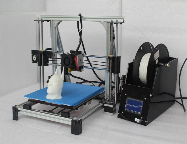 2015 Newest Hight quality Precision aluminum frame  DIY 3d Printer kit with 1 Rolls Filament 8GB SD card and LCD for Free