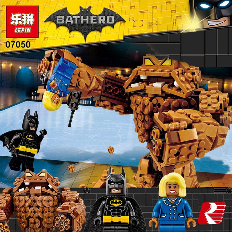 Lepin-07050-New-469Pcs-Batman-Movie-Series-The-Rock-Monster-Clayface-Splat-Attack-70904-Building-Blocks (3)