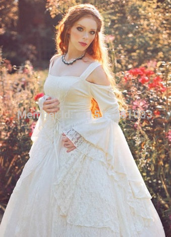 Gwendolyn Meval Or Renaissance Wedding Gown Velvet And Lace With Hoop Southern Belle Costume Victorian