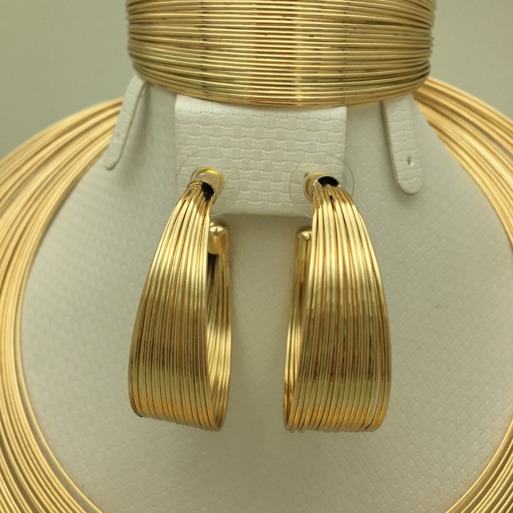 BAUS Eritrea Dubai indian arabic gold jewelry Set Ethiopian Gold - Fashion Jewelry - Photo 3