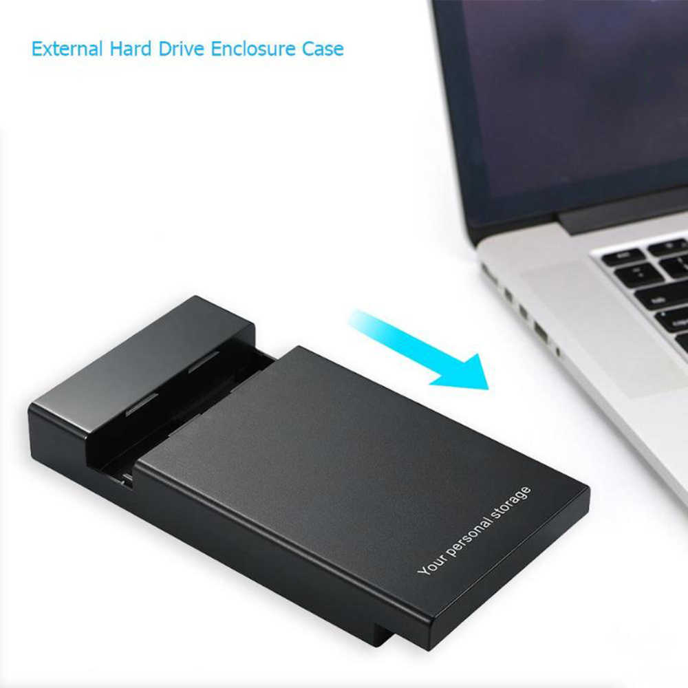 """Sata III إلى USB 3.0 HD HDD حافظة قرص قرص صلب خارجي ضميمة 2.5 """"3.5"""" قاعدة تركيب الأقراص الصلبة صندوق لأجهزة الكمبيوتر المحمول قرص صلب"""