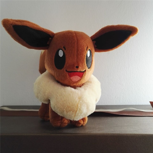 Eevee high~16cm Mini-Plush: Pokemon Evolution of Eevee Series Plush toy doll