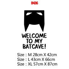 Batman Wall Stickers Vinyl Decals For Batman Room Decor Wallpaper Baby Wall Decal Sticker decoracion habitacion batman