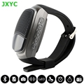 Hot sale B90 sports watch com alto-falantes Bluetooth cartão de alto-falantes, exibição de tempo, relógio de alarme e cronômetro