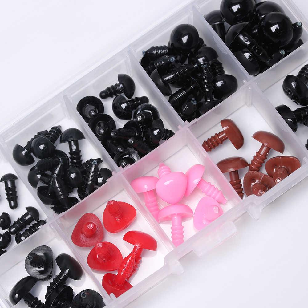 Новое поступление на возраст от 6 до 12 лет мм черный Изделия из пластика защитные глаза для плюшевый мишка, мягкая игрушка кукла животных амигуруми DIY аксессуары для малышей