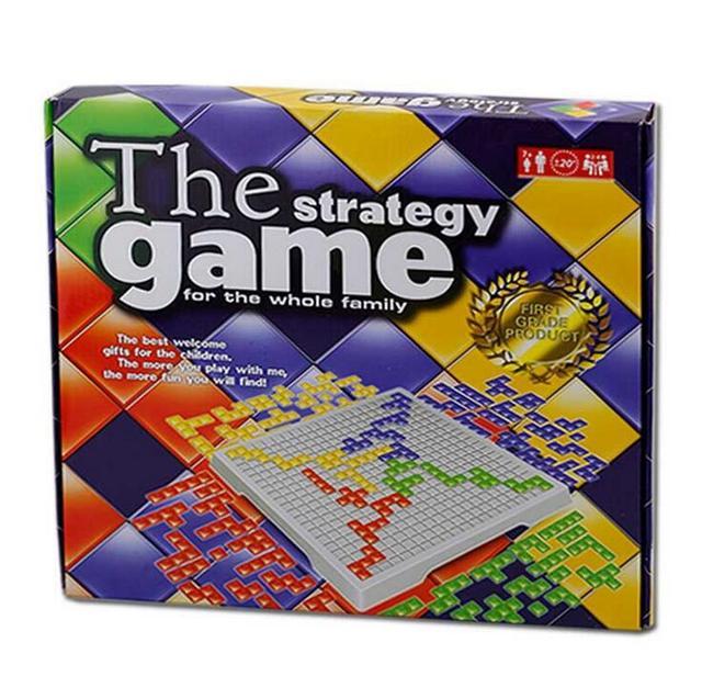 Blokus Настольная игра 4 игроков Семья и дети стратегия игры Juego de Mesa Blokus Jeu de Societe