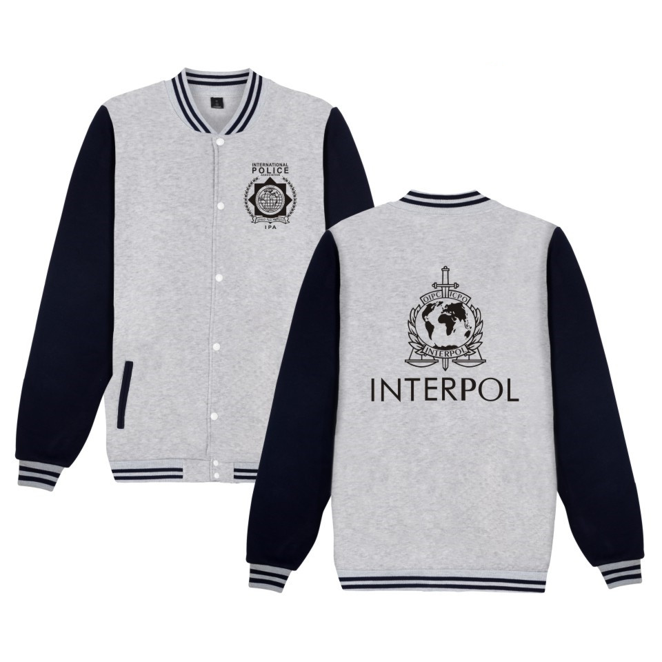 ad70c2d1e64d1 LUCKYFRIDAYF 2017 INTERPOL Punk Band jaqueta feminina Sweatshirts Men women  baseball jacket Hip hop casaco feminino Coats 4xl-in Jackets from Men s  Clothing ...