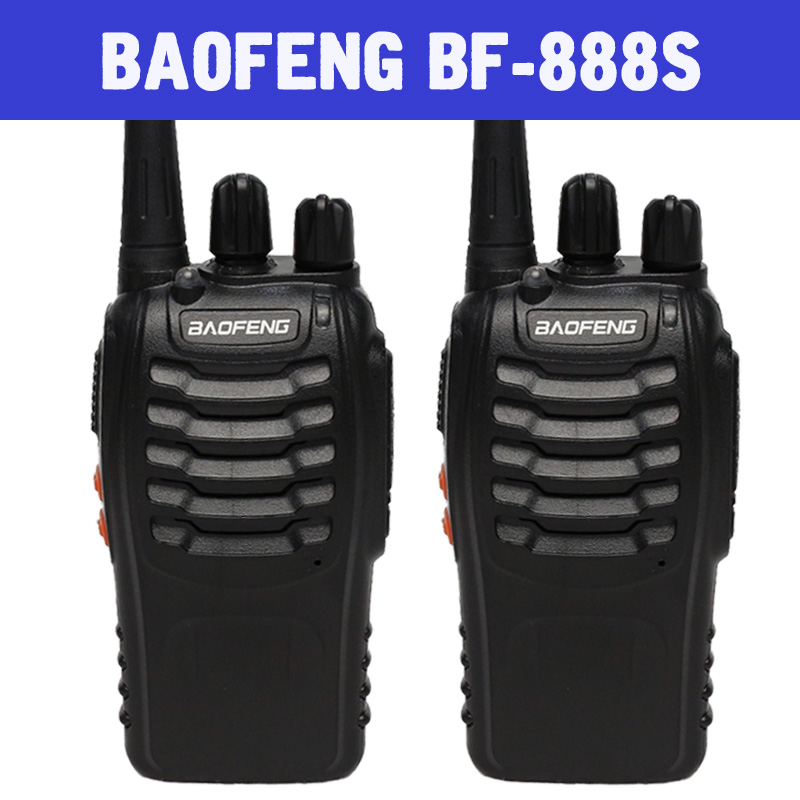 BAOFENG BF 888S Walkie Talkie 2PCS SET Portable Radio 16CH transceiver