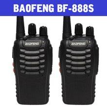 BAOFENG BF-888S Walkie Talkie 2 ШТ./КОМПЛ. Портативный Радиоприемник 16-КАНАЛЬНЫЙ приемопередатчик
