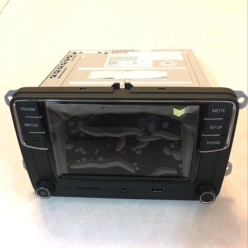 Rádio do carro 6.5 polegada MIB RCD510 RCN210 RCD330 RCD330G Plus Para Golf Jetta MK5 MK6 CC Tiguan Passat 6RD 035 187 Um 6RD035187A