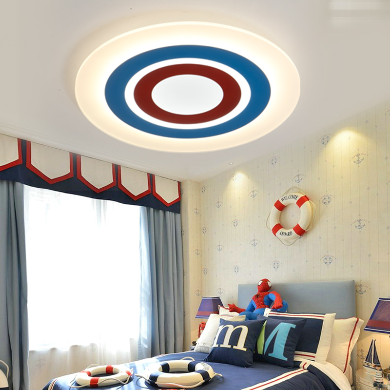 Surface Mounted Ceiling Lights Modern Led lamparas de techo acrylic Ceiling lamp light fixtures for kids room Children room modern led ceiling lights for living room bedroom foyer luminaria plafond lamp lamparas de techo ceiling lighting fixtures light