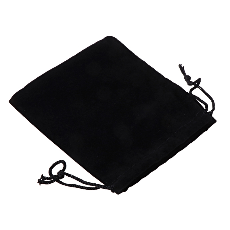 2018 Large Velvet Cloth Classical Black Jewelry Pouches Bags With Drawstrings A14_20