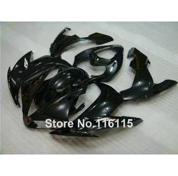 Injection molding ABS full fairing kit fit for YAMAHA YZF R1 2004 2005 2006 all glossy black fairings set YZF-R1 04 05 06 SK14