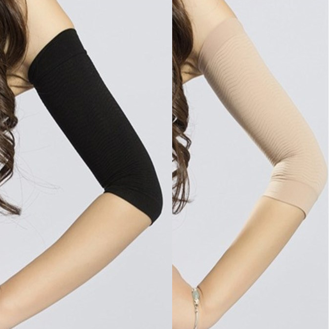 Massager Sleeve Slimming Wraps Arm Weight Loss Fat Burning Wrap Bands 2Pcs Weight Loss Calories Off Slim Slimming Arm Shaper