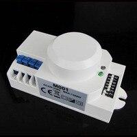 Бесплатная 110 В/AC-240V/AC 360 градусов микроволновая печь Сенсор выключатель света Индукционная Микроволновая печь движения Сенсор переключате...