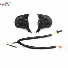 Для KIA RIO 2011- Многофункциональная кнопка управления рулевым колесом аудио переключатель громкости телефона для bluetooth автомобильные аксессуары