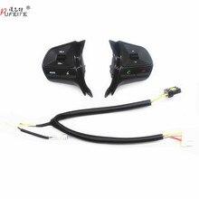 Dla KIA RIO 2011 2014 wielofunkcyjny przycisk sterowania kierownicą przełącznik głośności telefonu Audio dla akcesoriów samochodowych bluetooth