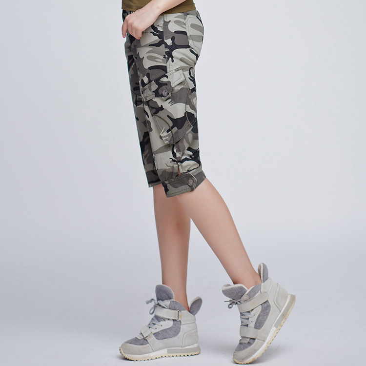 Military quality!2017spring/summer new women fashion Mountaineer Sweat / drying cargo shorts