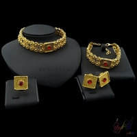 Yulaili 2017 Free Shipping Circle Ethiopia Choker Design Top Quality Women Fashion Costume Jewelry Sets
