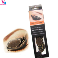 Waterproof Eye Shadow Temporary Tattoo Stickers Water Transfer Smoky Cosmetic Eyeshadow Beauty Maquiagem Face Decoration Tools
