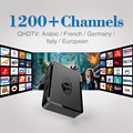 STi7105 Mag 254 Sistema Linux Iptv Set Top Box Caixa de TV 256 Mb Mais rápido do que Mag250 Media Player com 1200 Canais de IPTV Livre europa