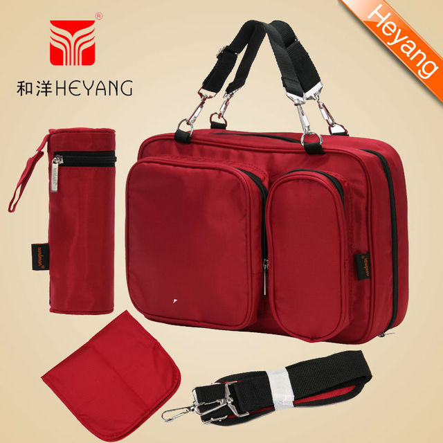 New arrival Free Shipping Aardman Wholesale Cheap Designer Baby changing bag,stroller bag with changing mat-HY-1209