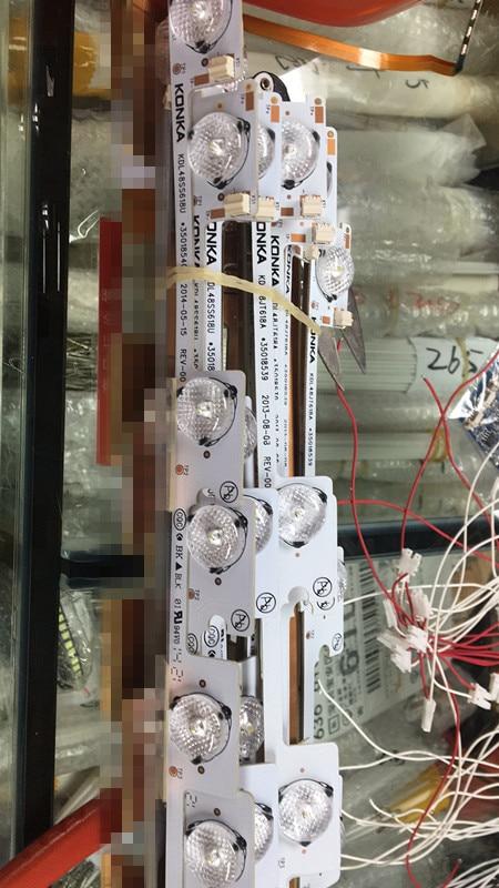 New LED Backlight Bar Strip For KONKA KDL48JT618A /KDL48SS618U 35018539 6 LEDS(6V) 442mmnew