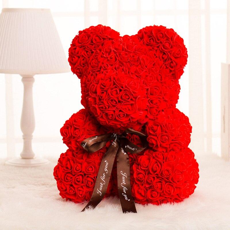 Subiu Urso Decoração da Festa de Casamento Presente do Dia Dos Namorados Namorada Presente Do Miúdo Dos Desenhos Animados Bonitos Super Amor Bonecas do Urso Presente - 5