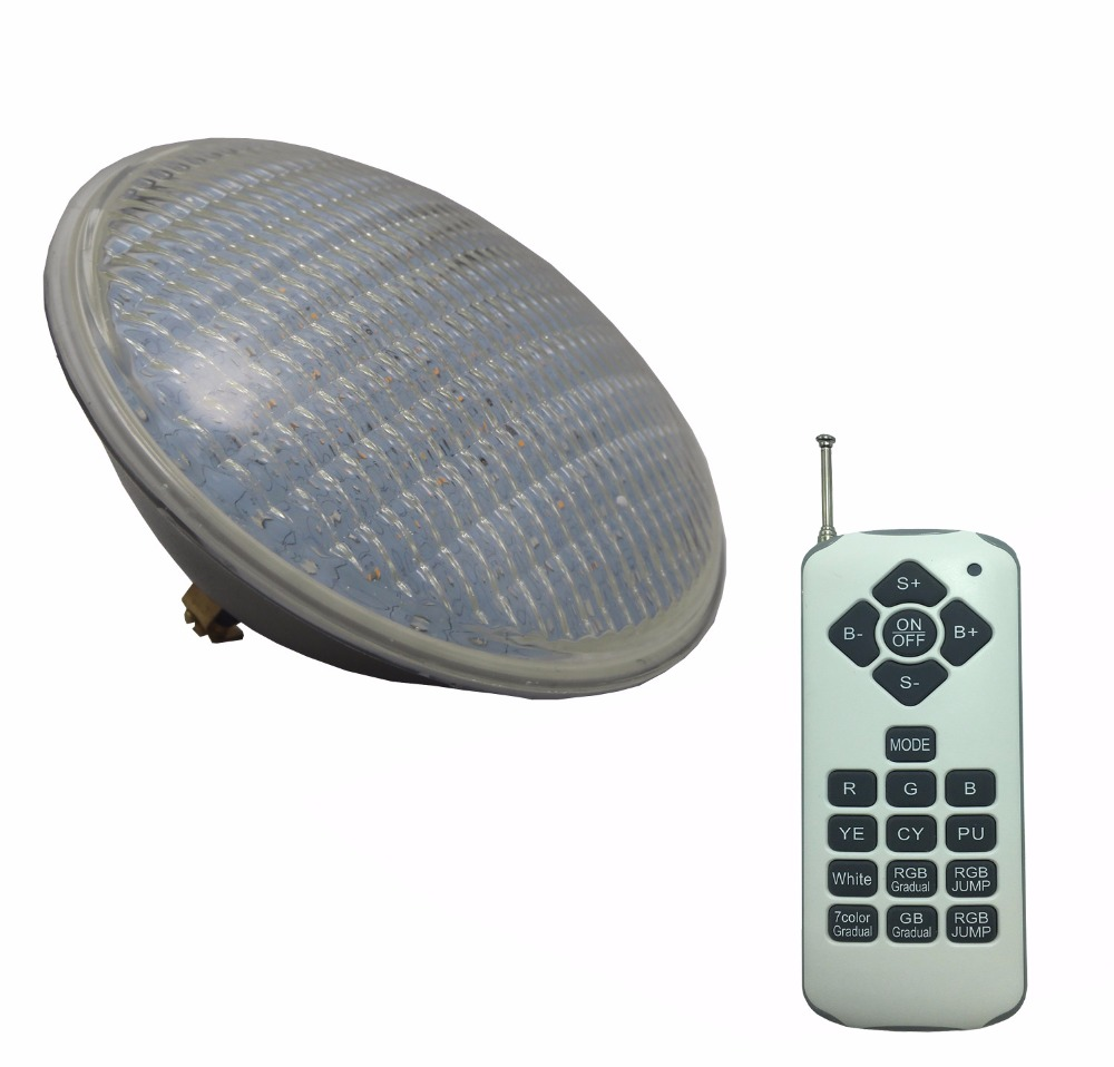 PAR56 LED 24W Swimming Pool Light IP 68 Water proof Underwater Lamp 12V AC Piscina Lighting RGBW Synchronous with Remote
