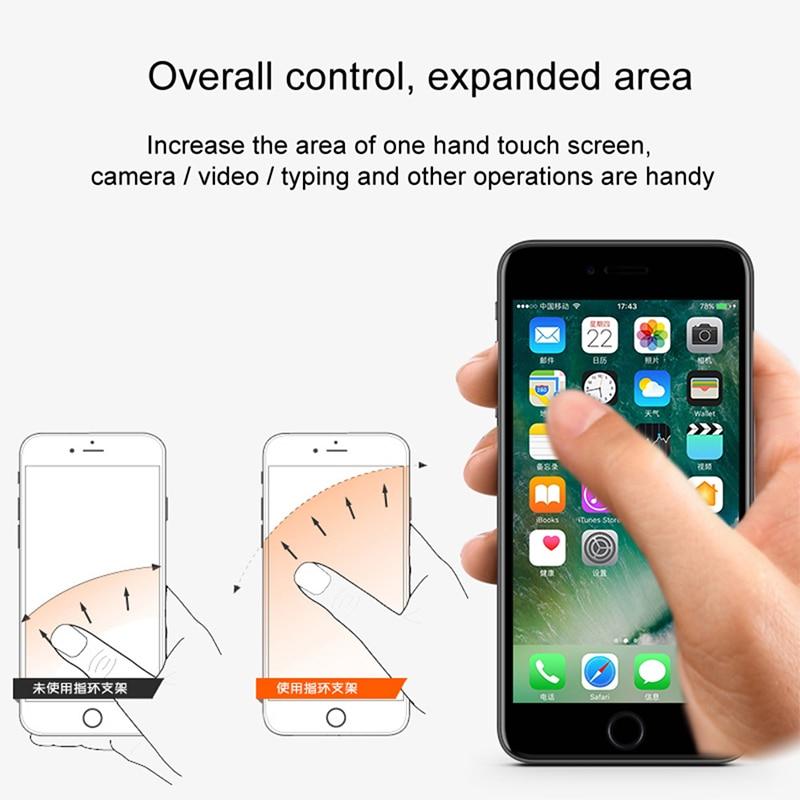 Baseus Ring Ring Ring Holder Stojak na iPhone'a 11 Pro Max X Xs Xr - Części i akcesoria do telefonów komórkowych i smartfonów - Zdjęcie 6