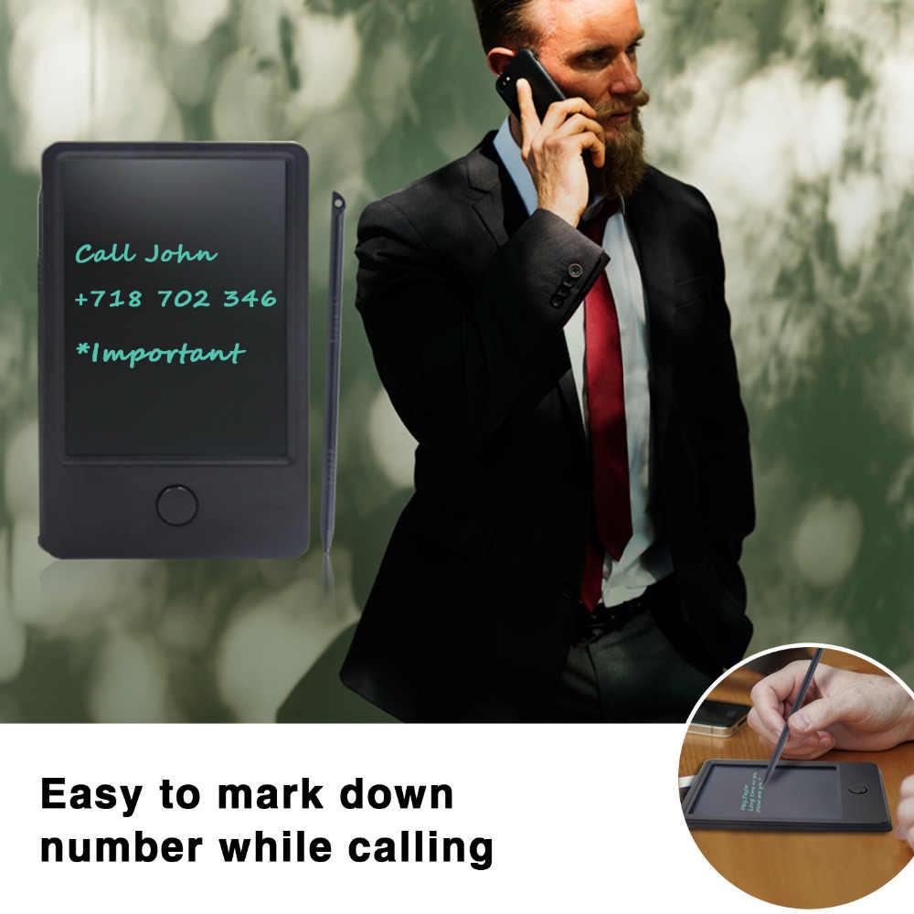 """NEWYES portátil 4,5 """"LCD escritura tablero de dibujo tableta Bloc de notas gráficos electrónicos Digital escritura a mano con stylus pen regalos"""