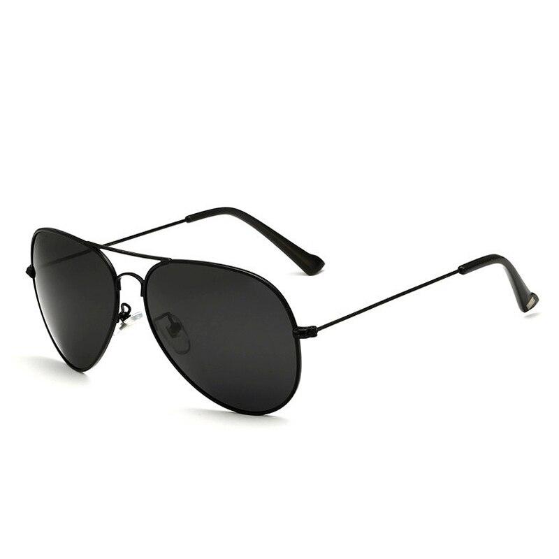 Солнцезащитные очки унисекс VEITHDIA, брендовые классические дизайнерские очки с зеркальными поляризационными стеклами, степень защиты UV400, для мужчин и женщин - Цвет линз: blackblack