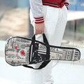 """High Quality 21"""" / 24""""Ukelele Bag Ukulele Gig Case Paper Pattern Oxford Backpack Adjustable Shoulder Strap Pocket"""