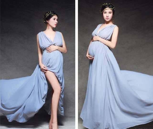 2bc10302f31 placeholder Maternity Photography Props Pregnant Dresses Maternity Dresses  Photo Shoot Wedding Dress Maternity Clothes For Pregnant Women