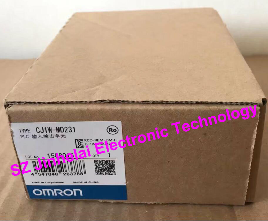 OMRON PLC Input output unit  CJ1W-MD231  New and original dhl ems 1pc new omron plc c200hw bi031 xtxr a2