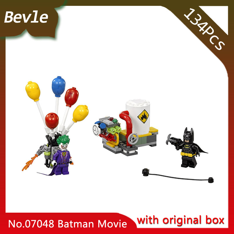 Bevle Store LEPIN 07048 134Pcs original box movie Series Clown Balloon Escape Building set Blocks Children Toys 70900 Gift bevle store lepin 22001 4695pcs with original box movie series pirate ship building blocks bricks for children toys 10210 gift