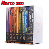 Marco Мастер серии масляные цветные карандаши lapis (жидкокристаллический дисплей) Профессиональный 80CB художника Цвет для рисования картин под