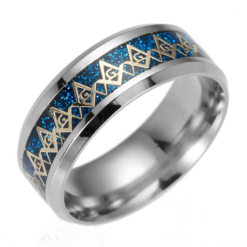Newest Hot Sale Stainless Steel Masonic Rings For Women